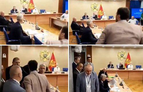 """Drama u Crnoj Gori: UMALO TUČA na sednici Odbora za bezbednost zbog Belivukovog """"Mesarskog klana"""" (VIDEO)"""