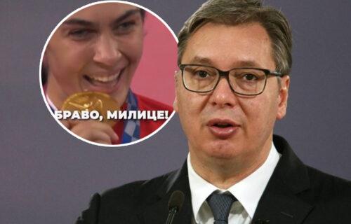 """Predsednik Vučić se još jednom oglasio: """"Bravo i hvala Milice!"""" (VIDEO)"""