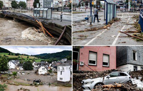 Crni bilans RASTE: Više od 180 MRTVIH u poplavama širom Evrope, na udaru i Austrija (FOTO)
