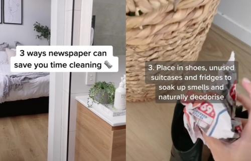 Ne bacajte stare NOVINE: Iskoristite ih za čišćenje na ova TRI načina (VIDEO)