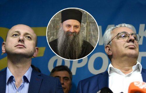 Mandić i Knežević u BRATSKOM razgovoru sa patrijarhom Porfirijem: Dobili BLAGOSLOV da brane interese SPC