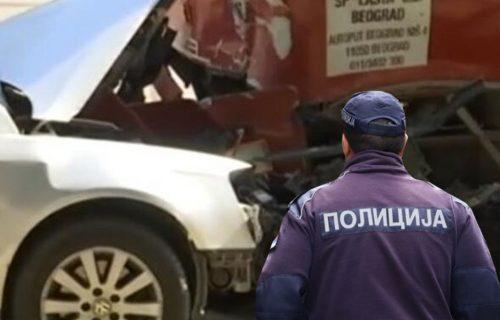 Komšije razbudile SIRENE, očevici opisali tragediju: Prve slike sa mesta NESREĆE u Smederevu (FOTO)