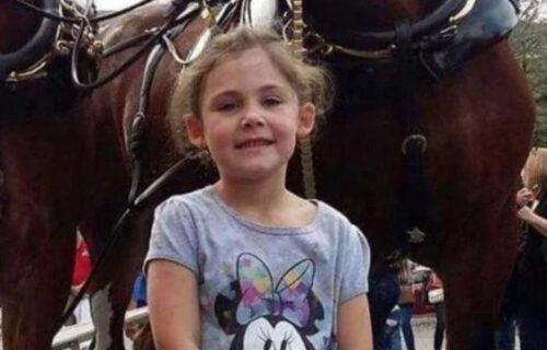 Devojčica se slikala ispred konja: Kada je otac pogledao FOTOGRAFIJU, zamalo da se ŠLOGIRA (FOTO)