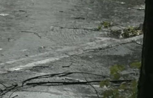 Valjevo pod jakim UDAROM, oluja lomila drveća: Nevreme izazvalo HAOS i u ovim delovima Srbije (VIDEO)