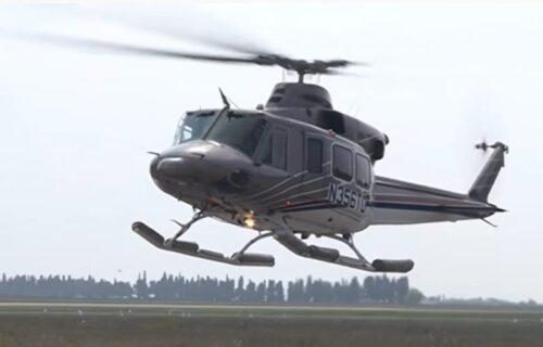 DRAMATIČNO SPAŠAVANJE: Muškarac pao sa drveta, morali da angažuju helikopter da prevezu povređenog