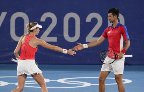Tandem iz snova ide po zlato: Novak i Nina čudesnom igrom do polufinala Olimpijskih igara!