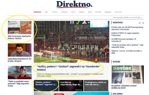 """""""Vučić peder, diktator, bolestan"""": Da li je to PROGRAM koji Đilasova opozicija nudi građanima? (FOTO)"""