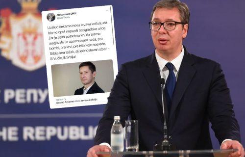 Đilasov sledbenik pozvao na UBISTVO Vučića: Sramni napad na predsednika Srbije! (FOTO)