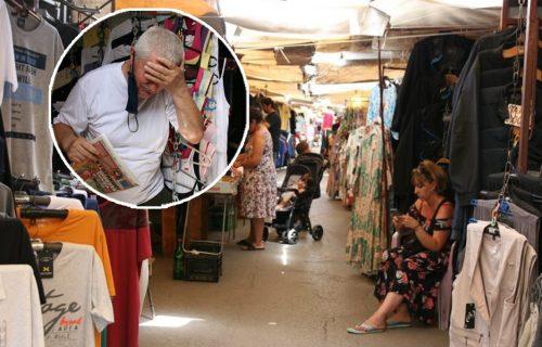"""ZARAĐUJU za hleb! Objektiv sa prodavcima na pijacama u NAJTOPLIJEM danu: """"Samo da preživimo"""" (FOTO)"""