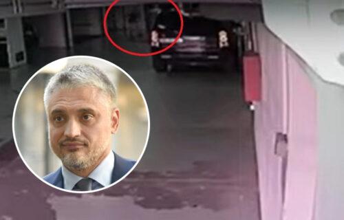 Isplivao SNIMAK TUČE Čede Jovanovića: Krvnički nasrnuo na čoveka - evo šta se dešavalo u garaži (VIDEO)