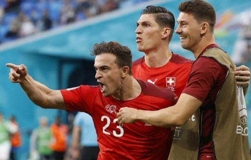 Švajcarska ne želi da stane, Šaćiri izjednačio protiv Španaca! (VIDEO)