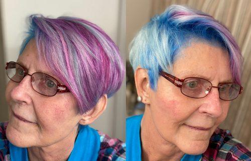 """""""Mlada sam i sviđa mi se"""": Baka (74) izazvala POMETNJU novom frizurom - komentari se nižu (FOTO)"""