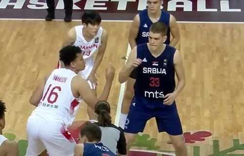 Umalo da prođu kao seniori: Mladi srpski košarkaši se mučili s Japanom, ali ipak prošli u četvrtfinale!