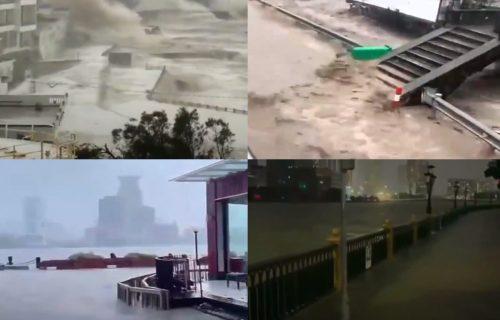 Tajfun PARALISAO Kinu: Stotine hiljada ljudi evakuisano - prizori ZASTRAŠUJUĆI (VIDEO)