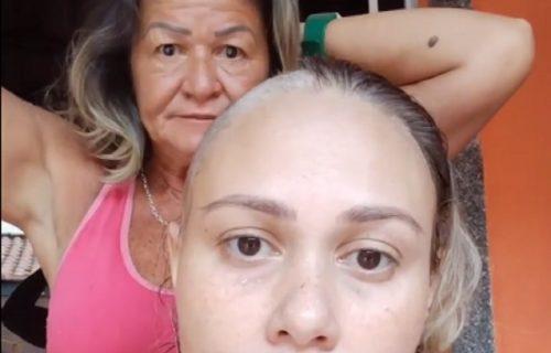 Obrijala glavu da bi podržala ćerku OBOLELU od raka: Mesecima kasnije mnogi su plakali od bolnog saznanja