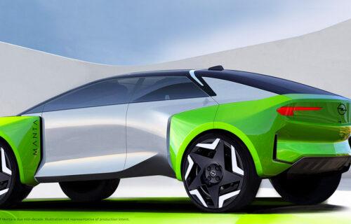 OPEL U OFANZIVI: Prelazi na struju, osvaja Kinu i razvija futuristički crossover Manta E (VIDEO)