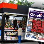 Danas u novinama Objektiv: Đilas se uzda u Veljine koljače, pevačici provalili u stan (NASLOVNA STRANA)