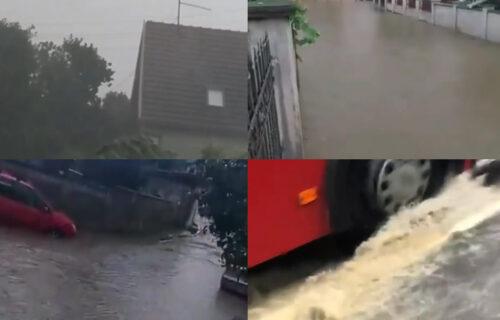 Nevreme PARALISALO Srbiju: Reke teku ulicama Beograda, grad prekrio Novi Sad i Vladičin Han (VIDEO)