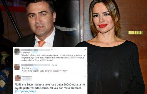 """""""Đurovića u ĆORKU"""": Građani BESNI nakon što je čelnik Vrnjačke Banje dao Severini 20.000 evra (FOTO)"""