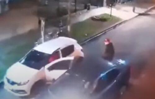Pljačkaši zbunjeni: Hteli da mu ukradu auto, a on je načinio potez zbog kog mu svi čestitaju (VIDEO)