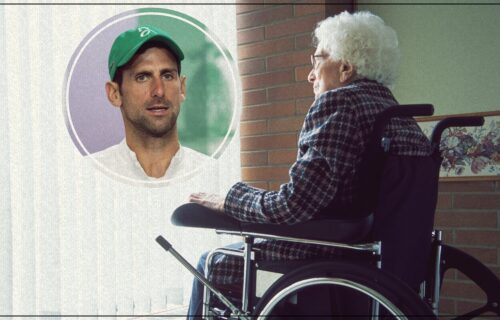 Đoković ispunio želju bolesnoj baki (92): Nije gledala finale, a čim se probudila pitala je za Noleta!