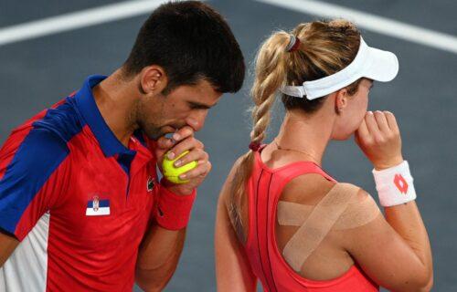 Ovo nije Novakov dan: Nakon poraza od Zvereva, prvi reket sveta ostao i bez finala u miks dublu