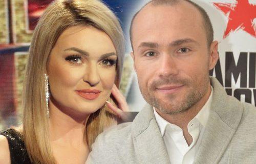 Aca Sofronijević i zgodna voditeljka javno razmenjivali NEŽNOSTI: STRASNO se poljubili u emisiji (FOTO)