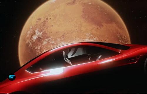 Spektakl u svemiru! Cybertruck i Roadster u video-igri: Ilon Mask je oduševljen (VIDEO)