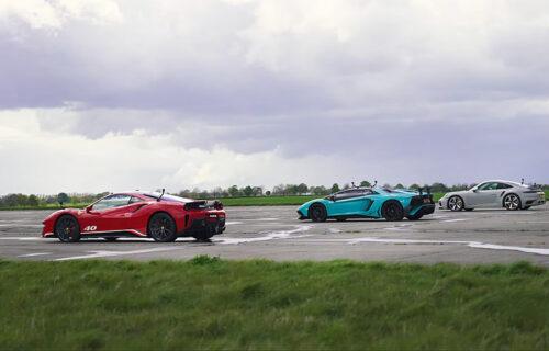 Trka ubrzanja od MILION dolara: Ferrari, Lambo i Porsche izašli na crtu - ko je najbrži? (VIDEO)