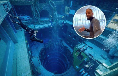 Vil Smit zaronio u NAJLUĐI bazen na svetu: Pogledajte šta se KRIJE na 60 metara dubine (VIDEO)