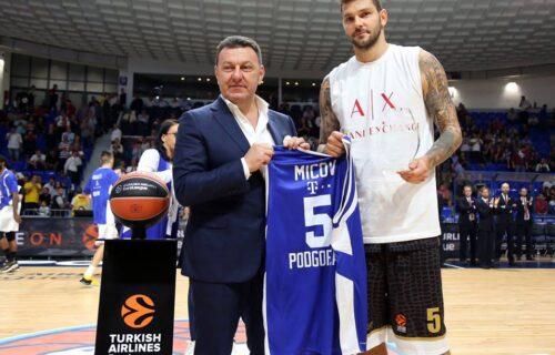 Vladimir Micov objasnio zašto je izabrao Budućnost, a ne Partizan