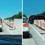 Bahatost ili opravdana žurba: Zaglavljen u gužvi, vozač izašao iz kola i uradio nešto neverovatno (VIDEO)