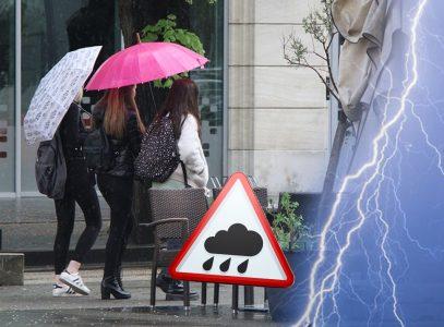 Osveženje stiglo u Srbiju: Pripremite kišobrane i topliju garderobu, evo kada nas očekuje LEPŠE VREME