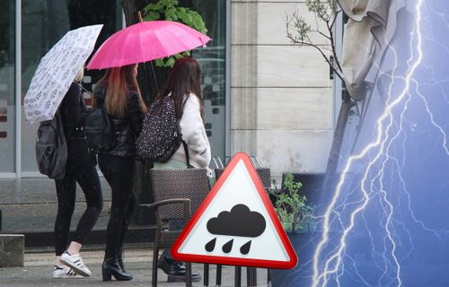 Srbija i danas pod KIŠNIM plaštom: Najviša temperatura do 9 stepeni, a evo kakvo vreme nas tek čeka