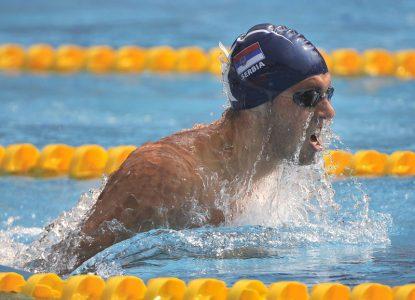 Borio se kao lav: Čaba Silađi u samom finišu trke ostao bez polufinala na 100 metara prsno