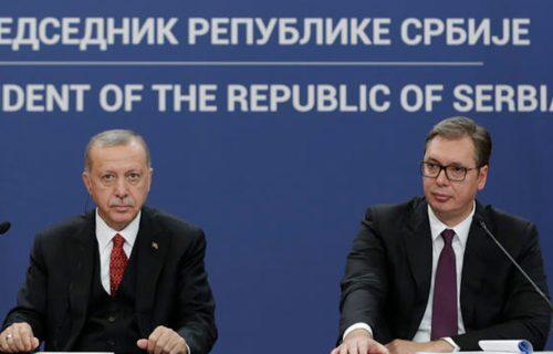 """Vučić poslao telegram Erdoganu: """"Srbija je uvek spremna da pruži prijateljsku pomoć i podršku"""""""