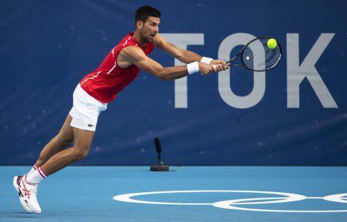 Novak lako u dva seta: Đoković demonstrirao silu i rutinu na startu Olimpijskih igara
