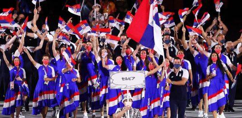 Zasijali olimpijski krugovi u Beogradu: Srpskim takmičarima stiže jaka podrška iz naše prestonice (FOTO)