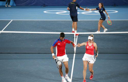 Termin je poznat: Evo kada Novak i Nina igraju za bronzu u miks dublu