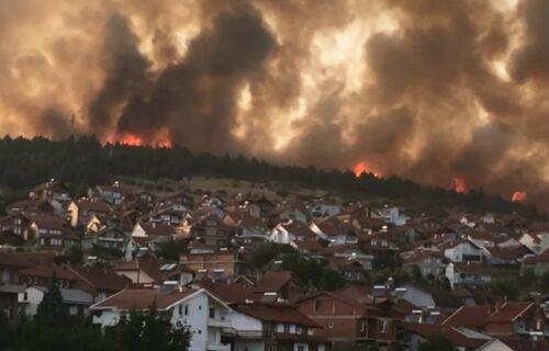 Severna Makedonija HITNO proglasila vanredno stanje: Bukti VATRA svuda, uhapšen Albanac zbog više požara