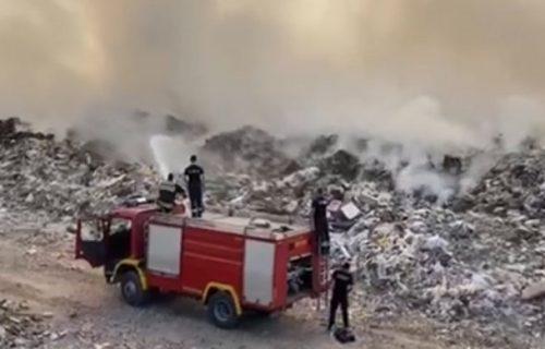 Otriveno šta se dešava sa POŽAROM u Vinči i dimom koji se ŠIRI: Oglasila se firma zadužena za deponiju