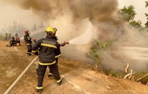 Srpski vatrogasci nastavljaju HEROJSKU MISIJU u Grčkoj: Ovako se bore sa vatrenim stihijama (FOTO)
