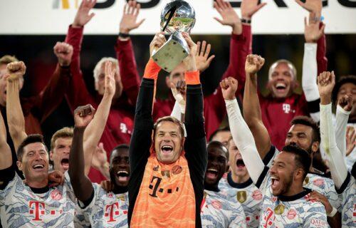 Apsolutni gospodari Nemačke: Bajern pobedom nad Dortmundom došao do prvog trofeja u sezoni