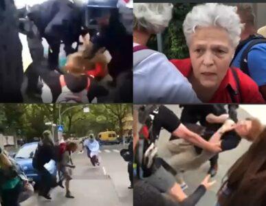 Ovako to radi nemačka POLICIJA: Kada se zabrane protesti – tuku decu i bake bez ikakve MILOSTI (VIDEO)