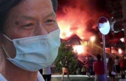 Kinez IZBEZUMLJEN nakon stravičnog POŽARA u Bloku 70: Vatrena stihija gutala sve pred sobom (VIDEO)