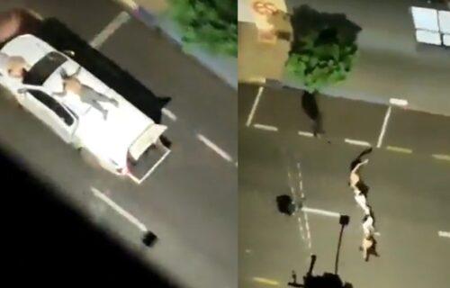Talačka KRIZA u Brazilu: Neviđeni snimci - taoci VEZANI za krovove i haube automobila (VIDEO)