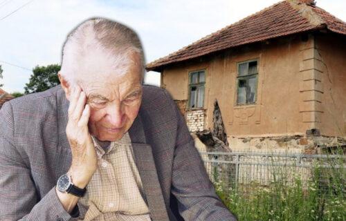 Deda (73) hteo automobilom da pregazi KOMŠINICU, pa naleteo na ŽENU: Okolina kaže da muku muči sa njim