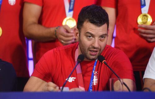 Emotivni kapiten: Filip Filipović posvetio zlatnu medalju svim Srbima!
