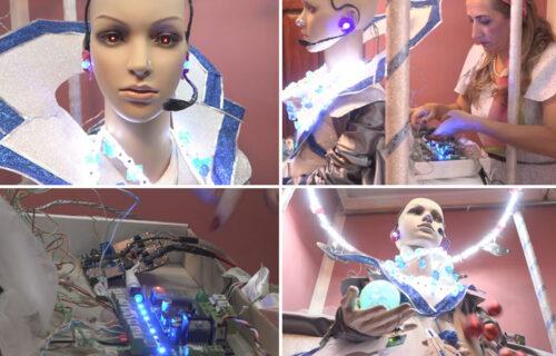Inovativna Ivanjičanka napravila ROBOTA profesora: Helga je spremna da OSVOJI čitav region (FOTO)