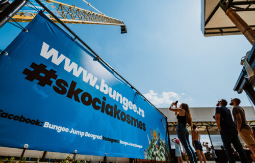 Proslavljeno 25 godina Bungee Jumping-a u Beogradu